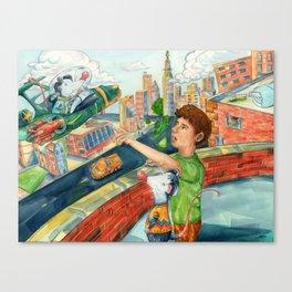 Space Venturer Canvas Print