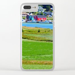 French River Harbour Clear iPhone Case