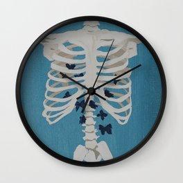 I Have Butterflies Wall Clock