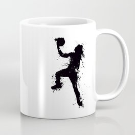 Basketball player inked Coffee Mug