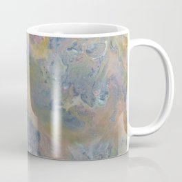 Day at the Beach Marble Coffee Mug