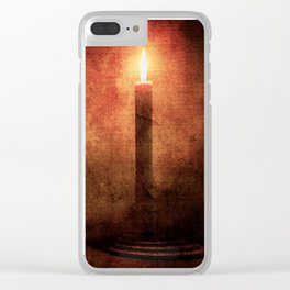 IS THERE A PERFECT WORLD? Clear iPhone Case