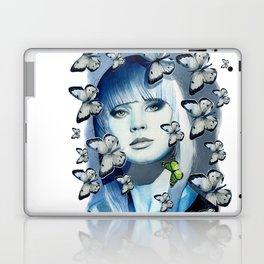 Green Butterfly Laptop & iPad Skin