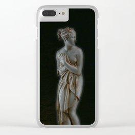 Neon Venus Clear iPhone Case