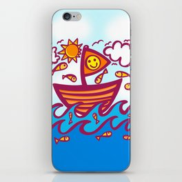 LUCKY FISHING DAY iPhone Skin