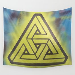 Penrosian Triad Wall Tapestry