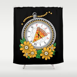 It's Pizza Time Shower Curtain