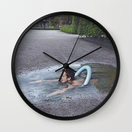 Athletic Crime Wall Clock