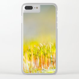 Colorful sprouts Clear iPhone Case