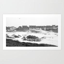 meerschaum storm, Britany 2 Art Print