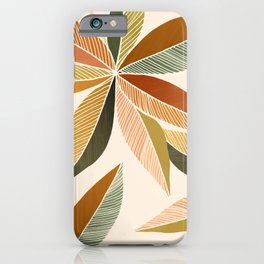 Autumn Japanese Maple / Botanical Design iPhone Case