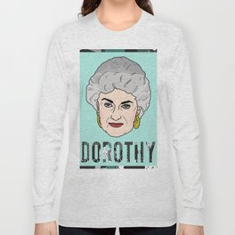 Dorothy Portrait Long Sleeve T-shirt