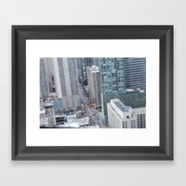 Chi City Framed Art Print
