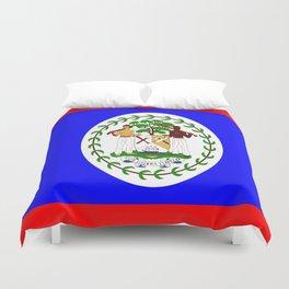 Flag of Belize Duvet Cover