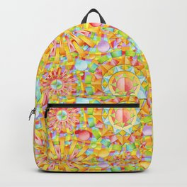 Circus Rainbow Mandala Backpack