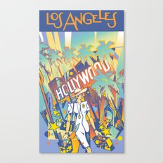 Los Angeles Canvas Print