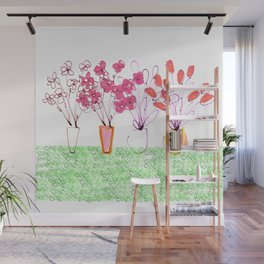 Flowers Galore Wall Mural
