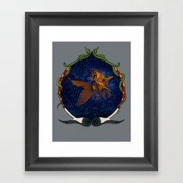 All that glitters... //color//framed// Framed Art Print