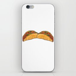 My Tacos Are the Best Graphic Mexican T-shirt iPhone Skin