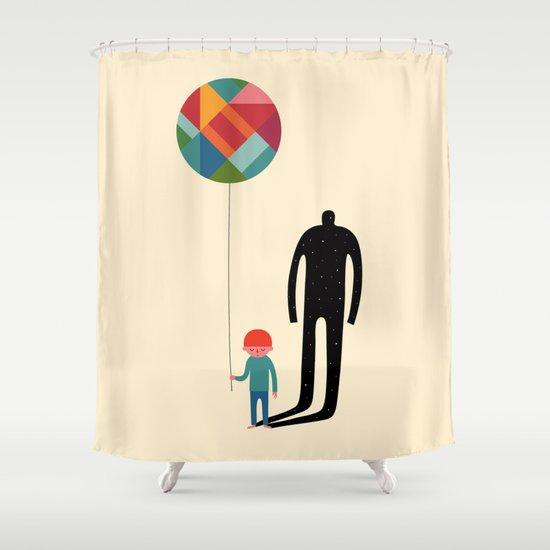 Grow Up Shower Curtain