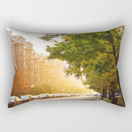 Boston, MA - Commonwealth Avenue Rectangular Pillow