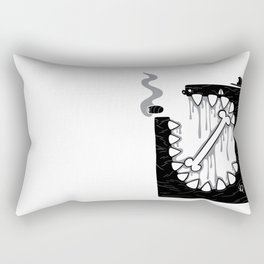 Zombie Punk Rectangular Pillow