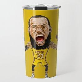 Lebron Scream LA23 Travel Mug