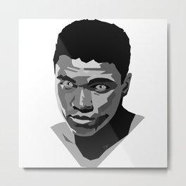 Young Ali Metal Print