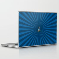 donald duck Laptop & iPad Skins featuring Donald - The Duck by applerture