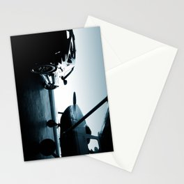 Twilight at the Hangar Stationery Cards