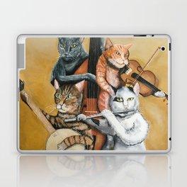 Cat Quartet Laptop & iPad Skin