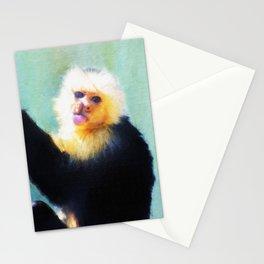 Spunky Little Monkey Stationery Cards