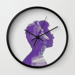 Quiet Courage Wall Clock