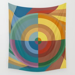 Colour Revolution FOUR Wall Tapestry