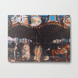 Jane's Carousel Metal Print