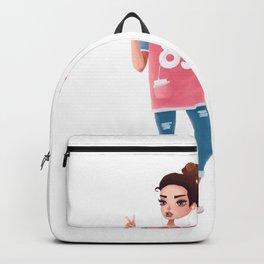 hip girl Backpack