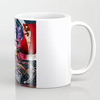 spaceman Mugs featuring Comic Spaceman by creative kids