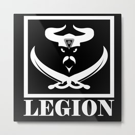 LEGION Metal Print