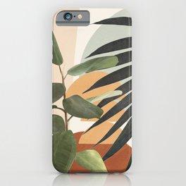 Sunset Flora 03 iPhone Case