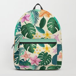 Tropical plants for botanical lovers Backpack