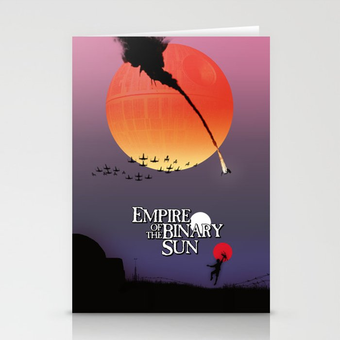 Empire of the Binary Sun Stationery Cards