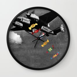 Candy Bomber Wall Clock