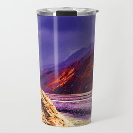 Solitary - A lone rock against the forces of nature Travel Mug