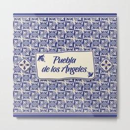 Puebla Metal Print