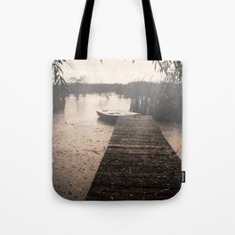 The fall  The Lake  The boat The drama Tote Bag