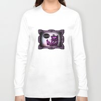 cheshire cat Long Sleeve T-shirts featuring Cheshire Cat by AKIKO