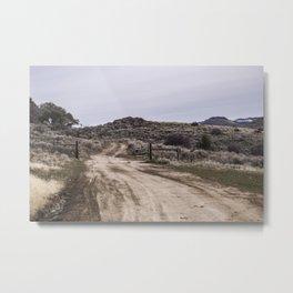 Gated Road Metal Print