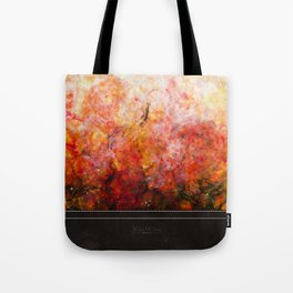 Daybreak - Original Abstract Painting Tote Bag