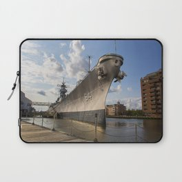 USS Wisconsin Laptop Sleeve