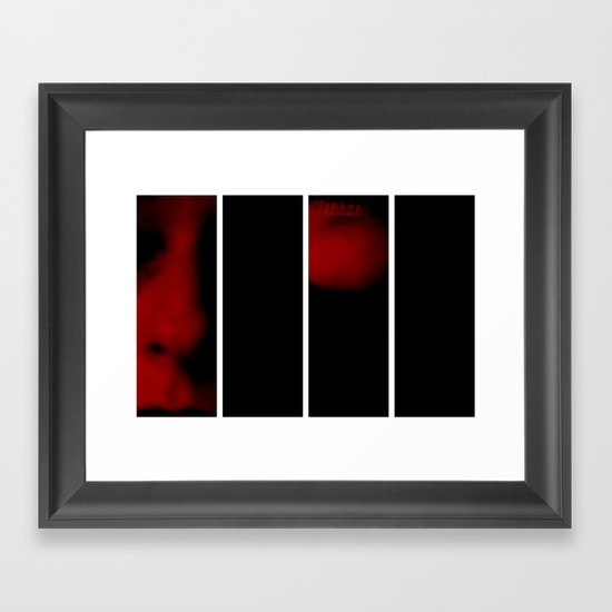 Reclusive - Polyptych Framed Art Print